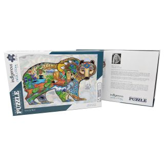 1,000 Piece Native Design Grizzly Bear Puzzle