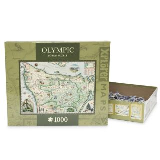 1,000 Piece Olympic National Park Puzzle