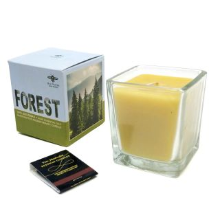 100% Beeswax Aromatherapy Forest Candle