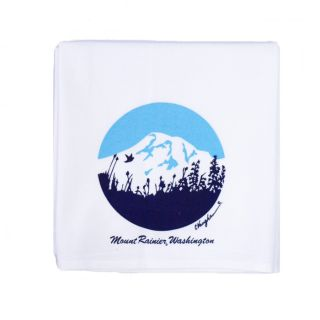 100% Cotton Kitchen Towel - Mount Rainier - 25