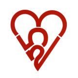 253 Heart Sticker - Red (Large)
