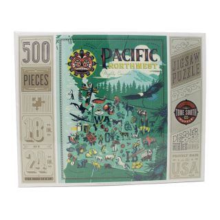 500 Piece Pacific Northwest Jigsaw Puzzle