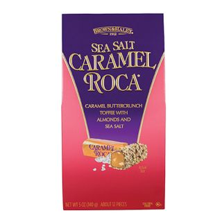 Almond Roca with Caramel Sea Salt  - 5 oz stand up box