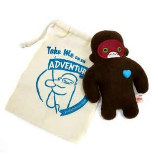 Careful it Bites! Mini Sasquatch Doll