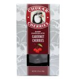 Chukar Cherries - Dark Chocolate Cabernet Cherries - 2.75 oz