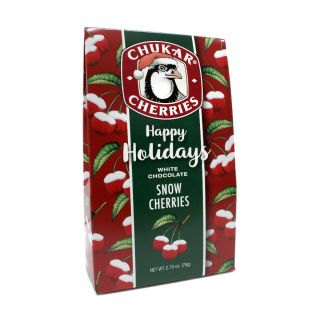 Chukar Cherries - Holiday Snow Cherries - 2.75 oz