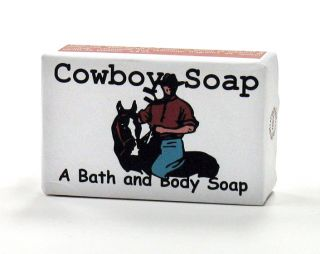Cowboy Bath and Body Soap - 3.4 oz