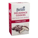 Dilettante Candy Cane Chocolate Decadence Cookies - 8 oz