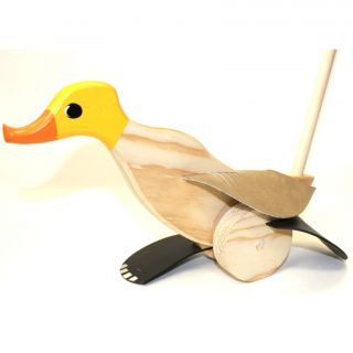 Duck Runner - Yellow
