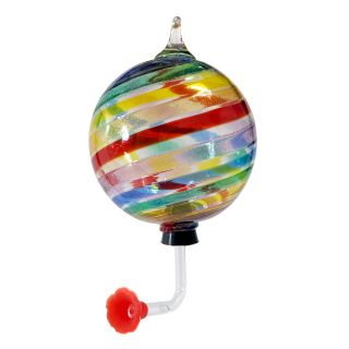 Glass Eye Studio - Hummingbird Feeder - Limited Edition Pride - 4