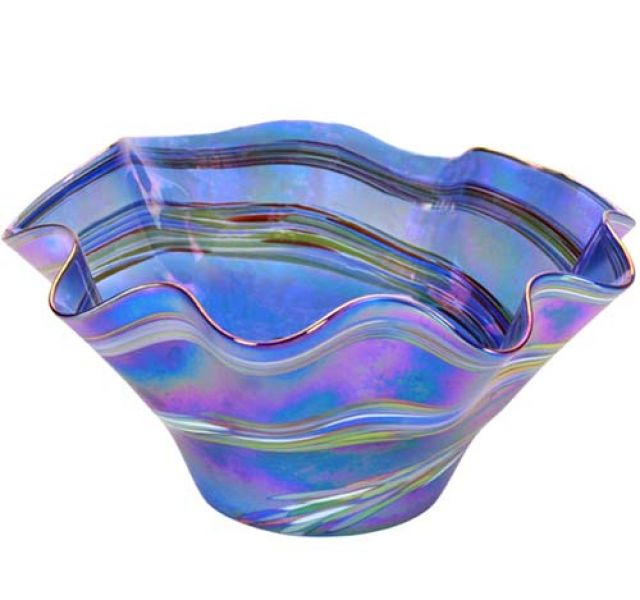 Mt St Helens Ash Hand Blown Glass Vases And Bowls Pacific