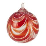 Glass Eye Studio - Limited Edition 2016 Ornament - Red Ribbon