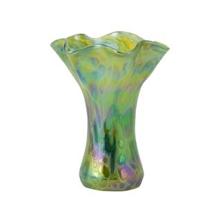 Glass Eye Studio - Mini Ruffle Vase - Spring Green - 6