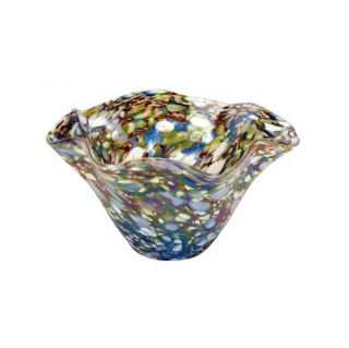 Glass Eye Studio - Mini Wave Bowl - Abalone - 6'' diameter