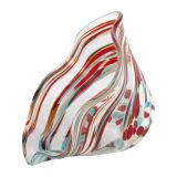 Glass Eye Studio - Mini Wave Bowl - Coral Twist - 6