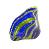 Glass Eye Studio - Mini Wave Bowl - Sunday Blue - 6