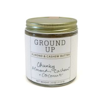 Ground Up - Almond & Cashew Butter - Chunky Coconut - 4oz