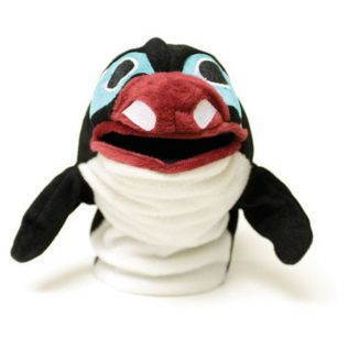 Hand Puppet - Splash - The Orca Puppet