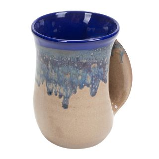 Handwarmer Mug - Cobalt Canyon - Right Handed - 5'' height