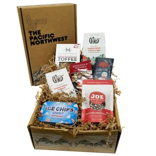 Holiday Peppermint Gift Box