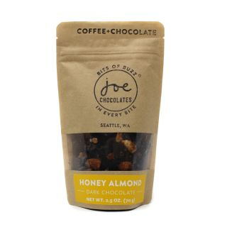 Joe's Honey Almond Chocolate + Coffee Bark - 2.5 oz