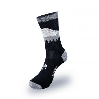 Large Merino Wool Blend Mount Rainier Socks