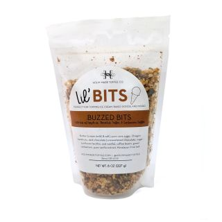 Lil' Bits Toffee Dessert Topping - Buzzed Bits - 8oz
