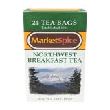 Market Spice Northwest Breakfast Tea - 24 bags (1 box)