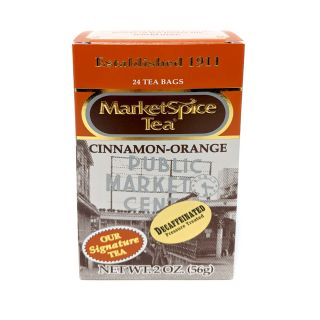 Market Spice Tea - Decaffeinated Tea - 24 bags (1 box) SAME DAY SHIPPING..