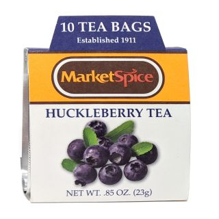 Market Spice Tea - Huckleberry, 10 ct.