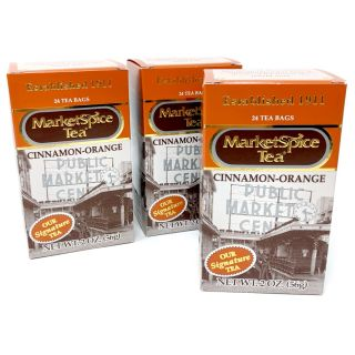 Market Spice Tea - Original Cinnamon Orange - Best Price: 72 bags (3 boxes) Same day shipping.