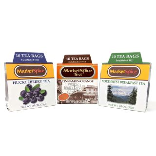 Market Spice Tea Sampler Trio, 30 ct.
