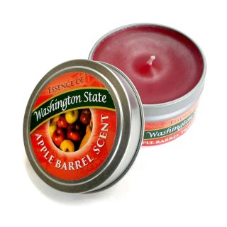 Market Spice Travel Tin Candle - Apple Barrel Scent