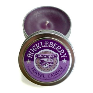 Market Spice Travel Tin Candle - Huckleberry Scent