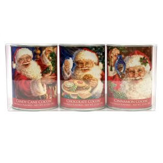 McSteven's Santa's Hot Cocoa Gift Set - set of 3 tins - 7.5 oz
