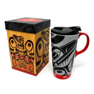 Native American - 17oz  Ceramic Mug - Raven