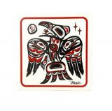 Native American Raven Design Trivet