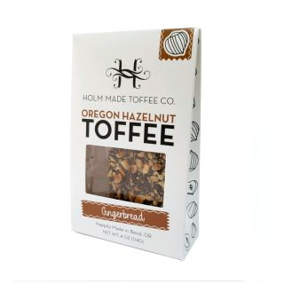 Oregon Hazelnut Toffee - Gingerbread - 4oz