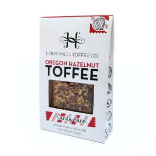 Oregon Hazelnut Toffee - Peppermint - 4oz