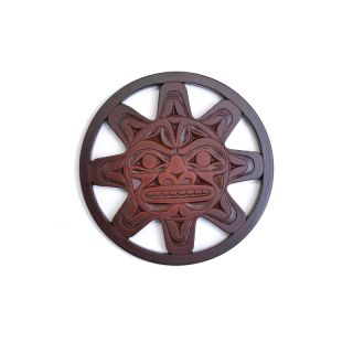 Pacific Northwest Coast Native American Sun Coaster - 4