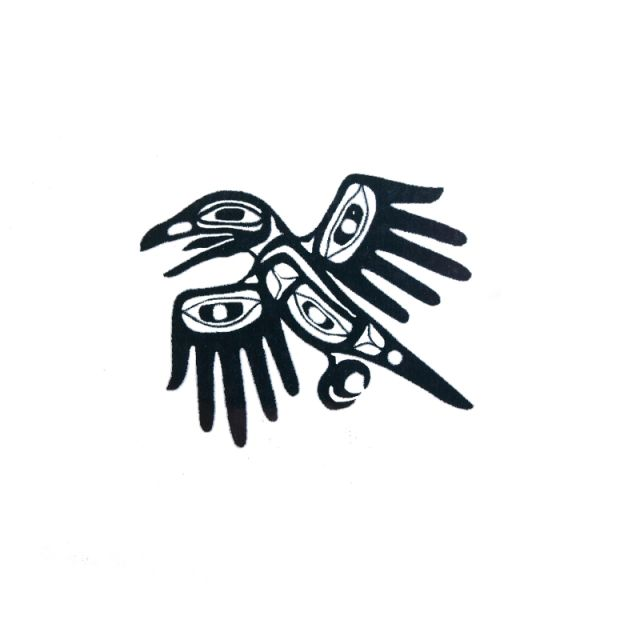 Pacific Northwest Native American Temporary Tattoo Hands Of