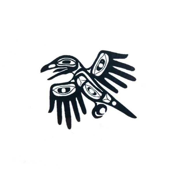 Native american symbols eagle for Native american tattoo artist seattle