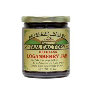 Puyallup Valley Jam Factory - Seedless Loganberry Jam - 10 oz