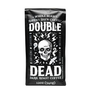 Raven's Brew - Double Dead Dark Roast Coffee - 12oz Whole Bean