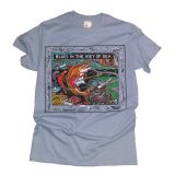 Ray Troll - Blues In The Key Of Sea T-shirt