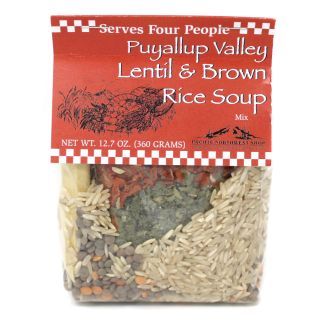 Rill Foods - Puyallup Valley Lentil & Brown Rice Soup - 12.7oz