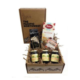 Scone, Jam and Tea Gift Box -