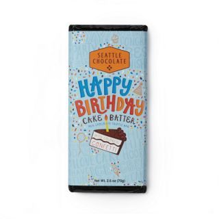 Seattle Chocolates - Birthday Cake Batter Truffle Bar - 2.5 oz