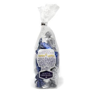 Seattle Chocolates Hanukkah Truffles Bag - 5 oz