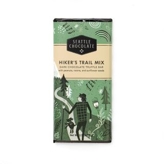 Seattle Chocolates - Hiker's Trail Mix Truffle Bar - 2.5 oz